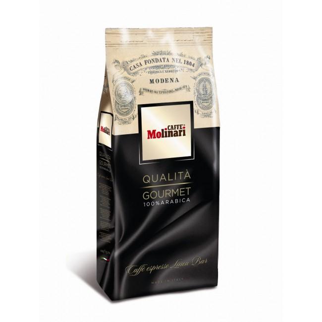 Кофе Molinari Gourmet 1кг в зернах