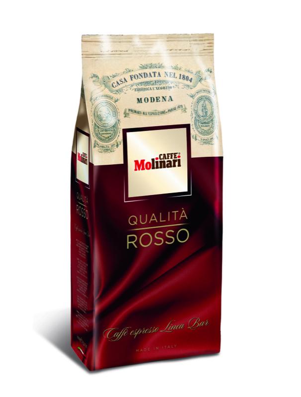 Кофе Molinari Rosso в зернах